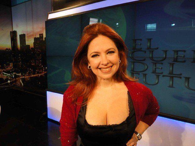La actriz Andrea del Boca