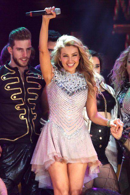 Thalía se presentó en MiamiThalía en el marco de su gira Latina Love Tour.