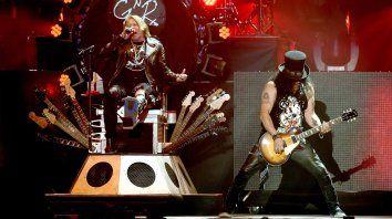 Axl Rose y Slash estarán en el Gigante de Arroyito el martes 1º de noviembre.