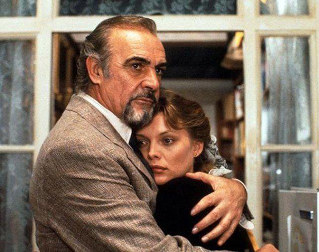 Clásico. Sean Connery y Michelle Pfeiffer