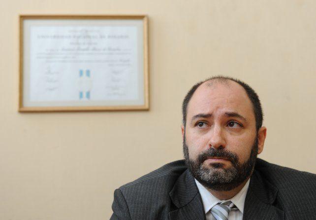 El juez Gustavo Pérez de Urrechu.