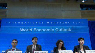 Perspectivas. Los economistas del Fondo presentaron sus proyecciones para la economía mundial en 2016 y 2017.