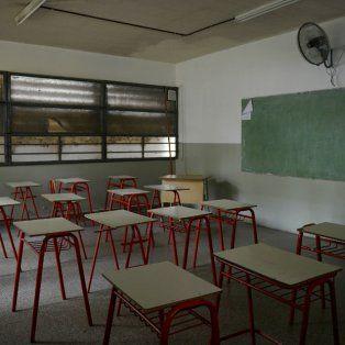 La gran mayoría de las escuelas provinciales no dictarán clases.