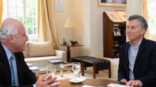 El gobernador Miguel Lifschitz y el presidente Mauricio Macri se reúnen hoy en la Casa Rosada.