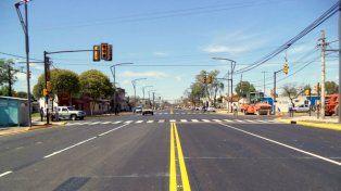 La avenida San Martín quedará totalmente renovada en toda su extensión.