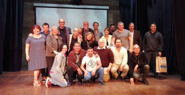 escenario. Grupos de teatro locales y el municipio organizaron el encuentro.