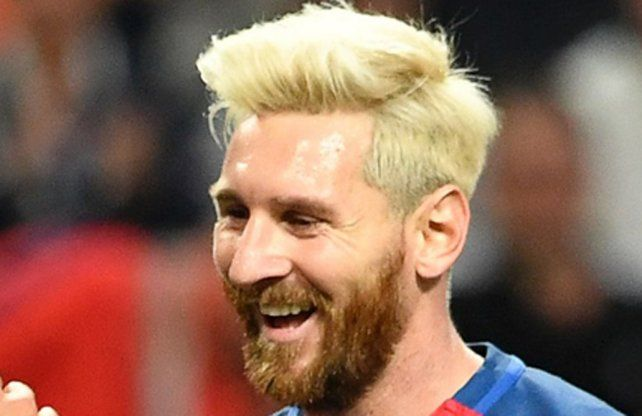 La sonrisa de Leo. Messi está feliz en el Barsa