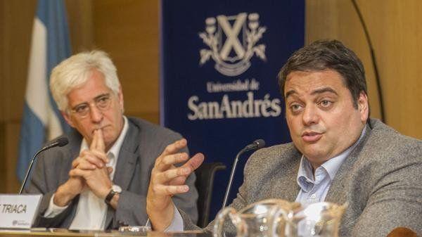 Triaca habló en una actividad en la Universidad de San Andrés.