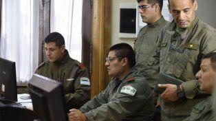 El comando central de Gendarmería. La intendenta se reunirá hoy con el máximo responsable de la fuerza federal.