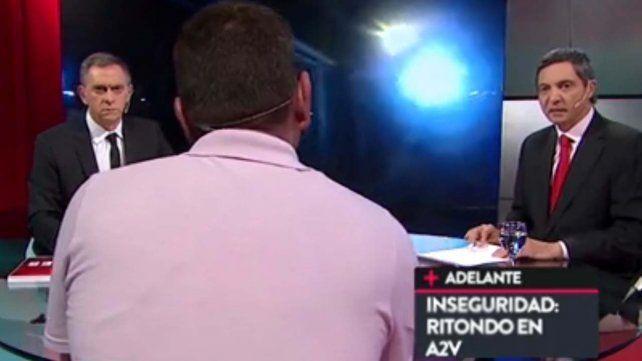 Cristian Ritondo hizo detener en vivo a un invitado de un programa de televisión