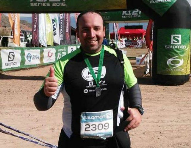 Darío había viajado a Chile junto a su esposa para participar de la competencia por etapas.