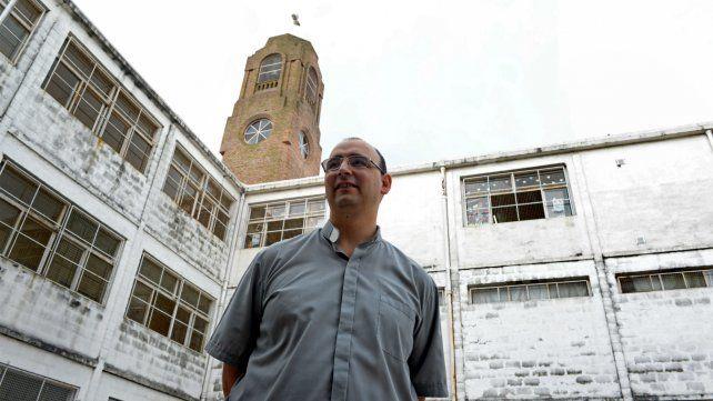 Fabián Belay trabaja en la pastoral social del Arzobispado.