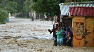El paso del huracán por Haití fue devastador.