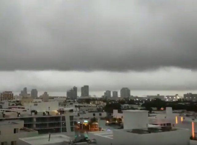 El paso del huracán Matthew por la ciudad de Miami, visto con ojos rosarinos