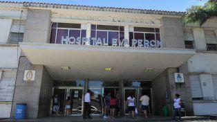 Fueron llevados a distintos hospitales pero finalmente ambos terminaron internados en el Eva Perón.
