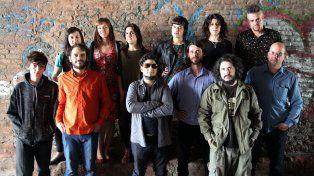 utópicos. La nutrida agrupación tanguera nació hace dos años en Rosario.