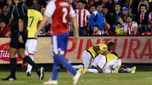 Todo Colombia celebra el golazo de Cardona en la agonía del partido.