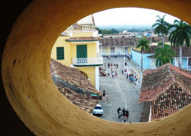 Mirador. Hermosa panorámica de la colonial Trinidad