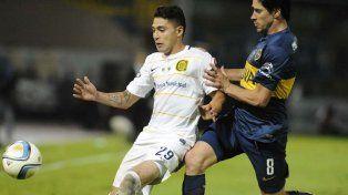 Antes y ahora. Salazar y Pablo Pérez jugaron la final en 2015 y todavía continúan en sus equipos.