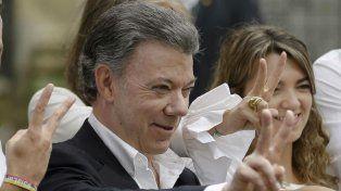 Santos fue reconocido por su lucha por la paz en su país.