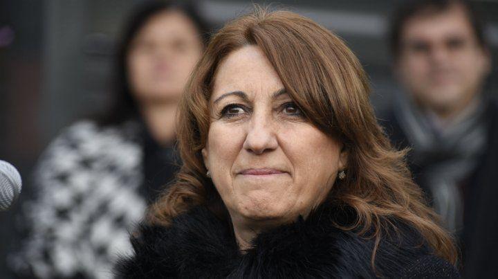 Mónica Fein criticó con dureza el paro municipal.