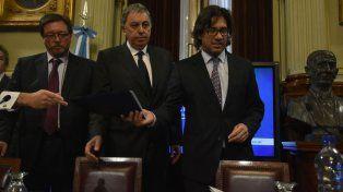 El ministro Garavano defendió el nuevo Código Procesal Penal.