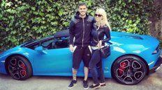 Mauro Icardi y Wanda Nara arreglaron un nuevo contrato con el Inter de Milán