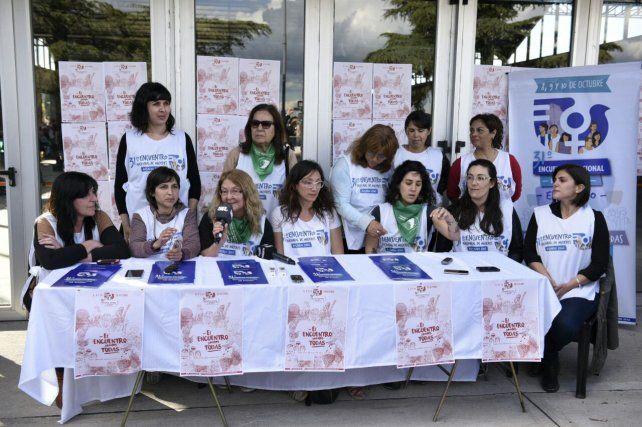 Se presentó el 31º Encuentro Nacional de Mujeres