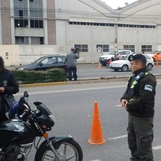 Parte de la actividad desarrollada por efectivos federales y de la Guardia Urbana Municipal (GUM).