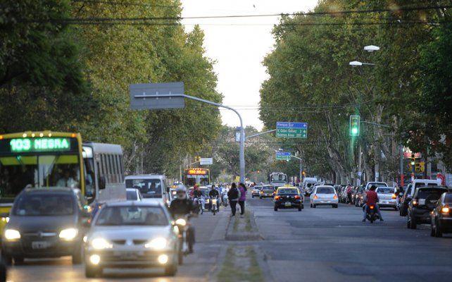 Arteria clave. La avenida San Martín es una vía estratégica y su cambio de fisonomía será integral.