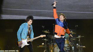 Jagger y Wood en acción. Los Rolling Stones no defraudaron en el Desert Trip