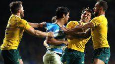 Moroni reaccionó contra Phipps y los australianos debieron separarlos.
