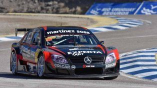 El arrecifeño Agustín Canapino (Mercedes) se adueñó hoy de una nueva pole position en Top Race