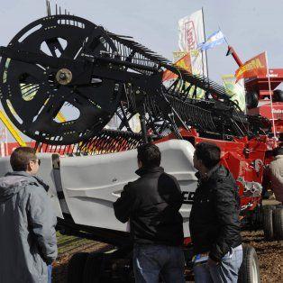 Testigo. Las exposiciones del sector agropecuario reflejaron este año el interés de los productores por invertir en maquinaria, una decisión que venían postergando.