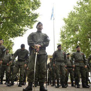 La llegada de los efectivos de las fuerzas federales.