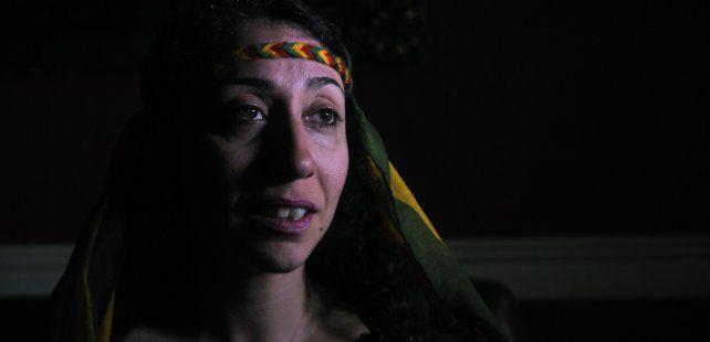 Dilan Bozgan nació en la región de Kurdistán lindera a Turquía.