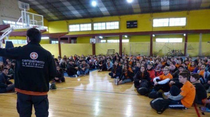 Relevamiento. Los campamentos se hicieron en 25 localidades de la Pampa Húmeda.
