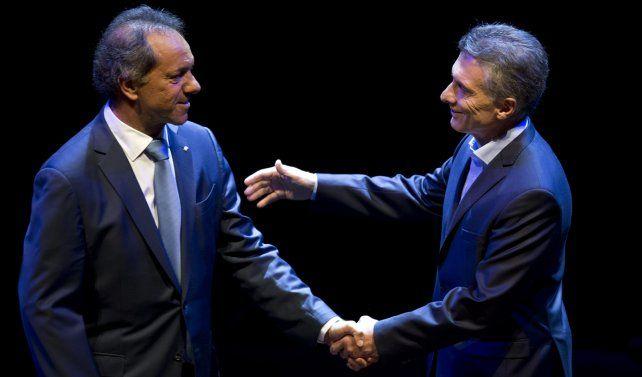 Daniel Scioli y Mauricio Macri protagonizaron el segundo debate
