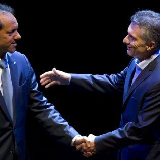 Daniel Scioli y Mauricio Macri protagonizaron el segundo debate, previo a la segunda vuelta que definió al nuevo presidente.