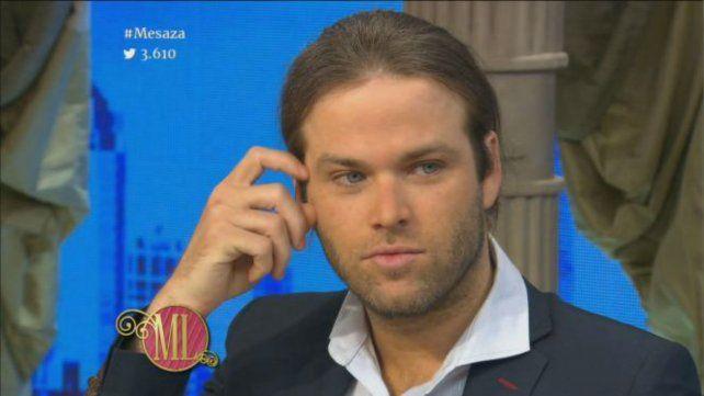 El actor y cantante habló de su relación con Lali Espósito en la mesa de Mirtha Legrand.