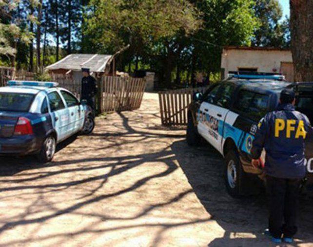 Operativo. La Policía Federal hizo allanamientos en Concordia y Paraná.