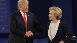 ¿Quién resultó ganador en el segundo debate entre Hillary Clinton y Donald Trump?