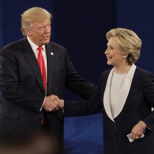 ¿quien resulto ganador en el segundo debate entre hillary clinton y donald trump?