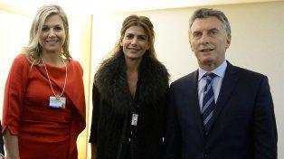 Máxima llega a la Argentina para mantener una reunión con el presidente Mauricio Macri.