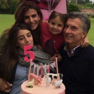 Juliana Awada publicó fotos en Instagram del cumpleaños de su hija menor.
