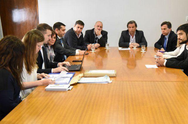 El acto de apertura de sobres se realizó en el Salón Belgrano del Palacio Municipal.