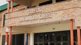 La Escuela Alejandro Carbó.
