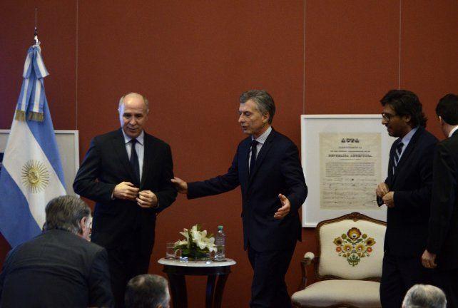 El convenio fue anunciado en un acto en la Casa Rosada