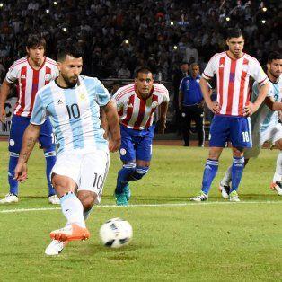 La más clara. Sólo iba 1 del complemento y Agüero tuvo la gran chance de empatar. Se lo atajó Justo Villar.