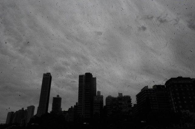 La ciudad y la región bajo alerta meteorológico.